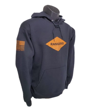 Hoodie Rangers Orange Diamond