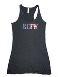 Ladies - RLTW Flag Tank Top