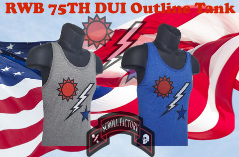 75th DUI RWB Tank Top