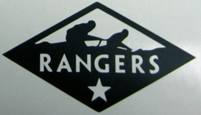 Sticker -Rangers Outline