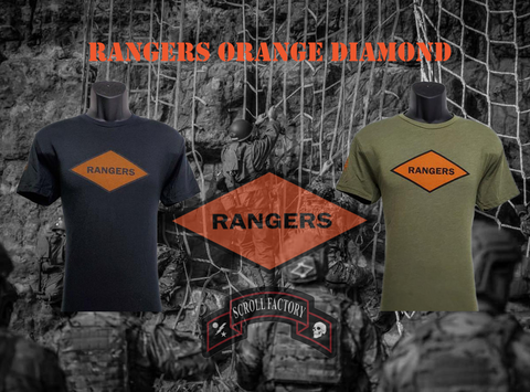 Rangers Orange Diamond Shirt