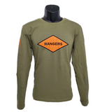 Rangers Orange Diamond Long Sleeve shirt