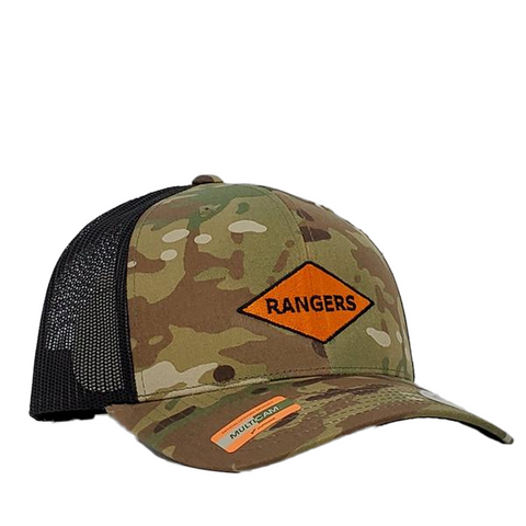 Rangers Orange Diamond Multicam