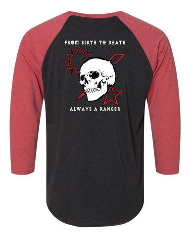 Shirt - Baseball Scroll Skull DUI