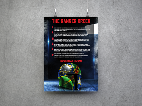 This is the Way - Ranger Creed - Pre-Order