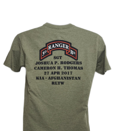 Shirt - Rodgers - Thomas Memorial shirt
