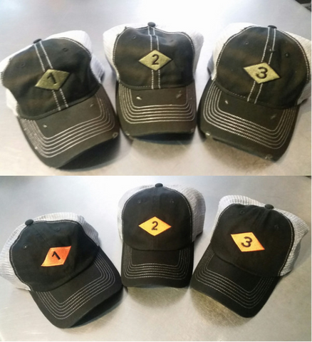 Hat - Bn Diamond Trucker