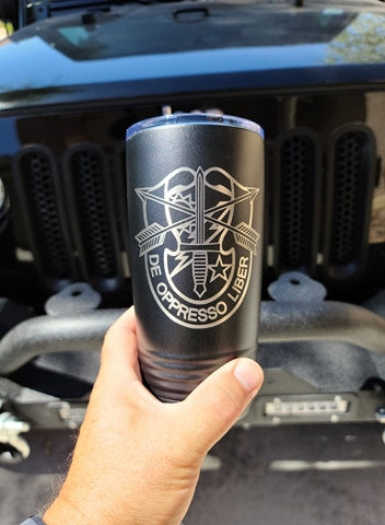 Tumbler - Special Forces 75th Ranger Crest