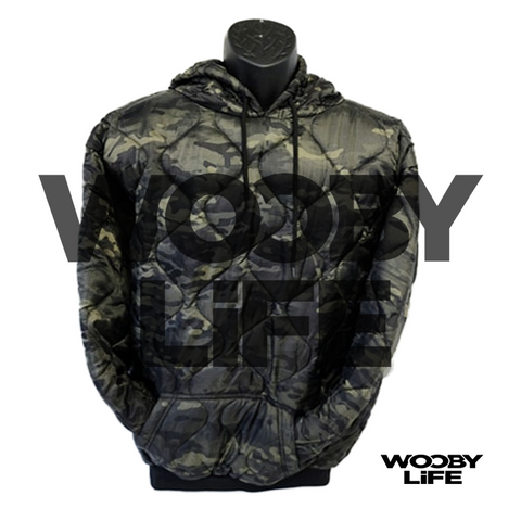 Wooby Life - MC Black Pull Over Hoodie