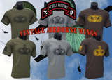Shirt - Vintage Airborne Wings