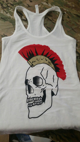 Tank Top - Ladies Skull Centurion