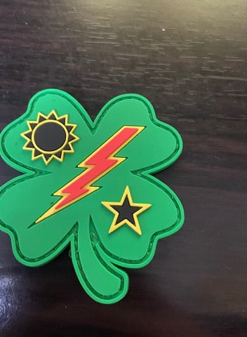 Velcro Patch - 75th DUI Clover