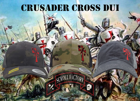 Crusader Cross DUI Cap
