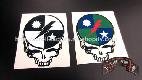 Sticker - 75th Dead Head