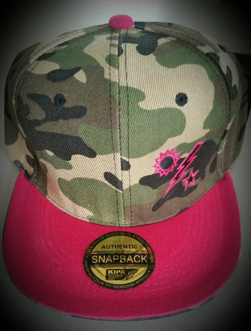 Hat - Ladies Camo Flatbilled DUI
