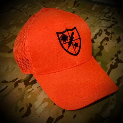 Hat - Blaze Orange 75th DUI