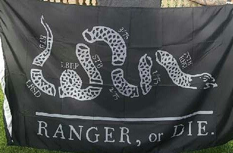 Flag - Ranger, or Die