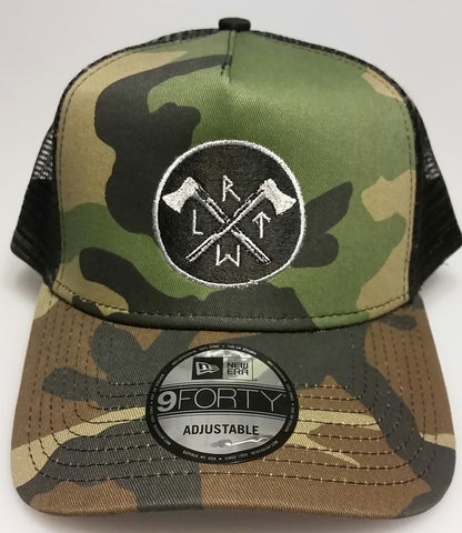Hat - Hatchet RLTW - New Era Trucker  5 Panel
