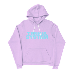 "Tennis System ""Autophobia"" Pullover Hoodie (Pink) (Pre-Order)"