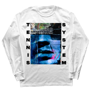 "Tennis System ""Autophobia"" Long Sleeve (White) (Pre-Order)"