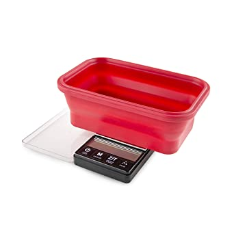 TruWeigh CRIMSON Scale w/ Collapsible Bowl