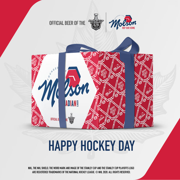 Limited-edition Molson Canadian Stanley Cup Playoff Case