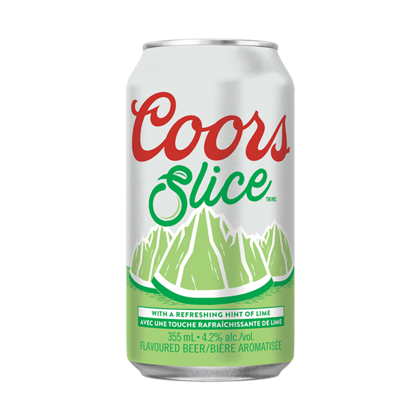 Coors Slice Lime 355ML CAN