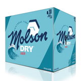 Molson Dry 30 x 355 ML CANS
