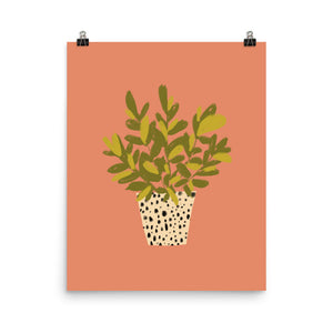 I'm Really into Plants Now - Art Print