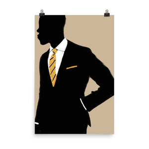 Suit and Tie - Art Print