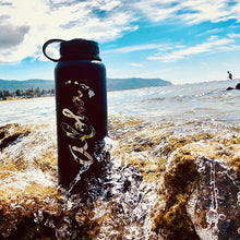 Load image into Gallery viewer, ALOHA FLORAL 40 OZ WATER BOTTLE