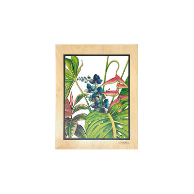 IN THE GARDEN 8X10 CUTOUT WALL ART