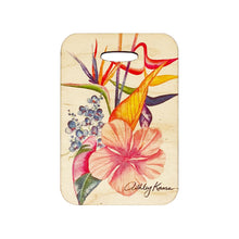 Load image into Gallery viewer, BOTANICAL BLEND WOOD BAG TAG
