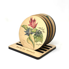 Load image into Gallery viewer, BOTANICAL MEDLEY COASTER SET