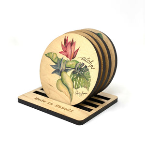 BOTANICAL MEDLEY COASTER SET