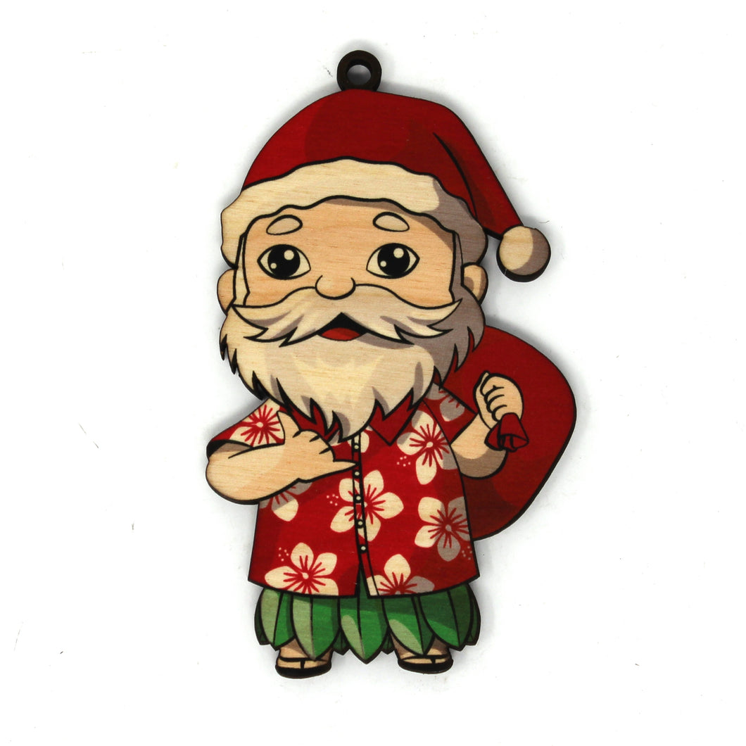 SANTA SLIPPERS ORNAMENT