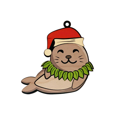 XMAS MONK SEAL ORNAMENT