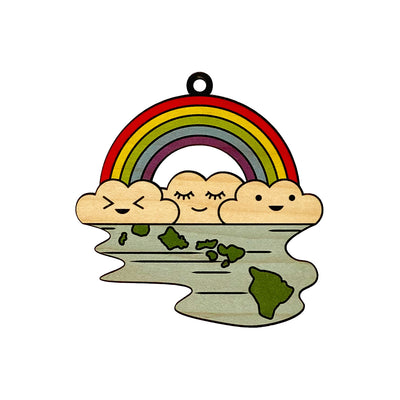 RAINBOW CUTE ISLANDS ORNAMENT