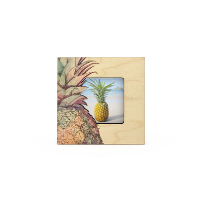 Watercolor Pineapple Mini Picture Frame