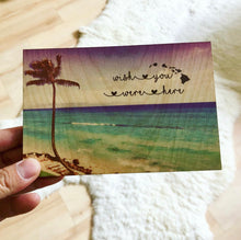 Load image into Gallery viewer, LAHAINA PALM WISH YOU WERE HERE POSTCARD