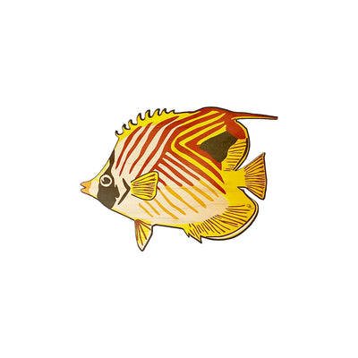 BUTTERFLY FISH STRIPE TRIVET