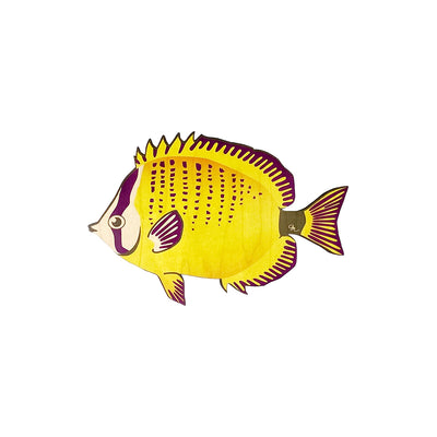 BUTTERFLY FISH HALF DOT TRIVET