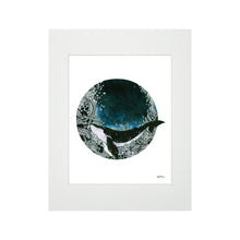 Load image into Gallery viewer, DEEP BLUE SEA SW MATTED PRINT