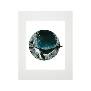 DEEP BLUE SEA SW MATTED PRINT