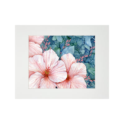BLOOM MATTED PRINT