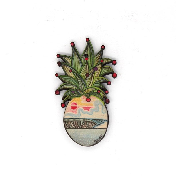LBL-PINEAPPLE CHRISTMAS ORNAMENT