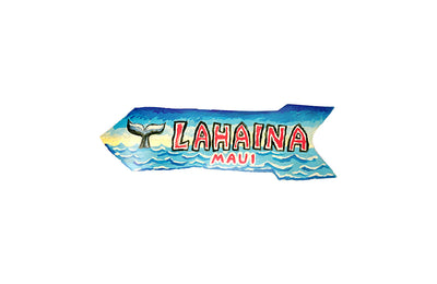 LAHAINA 14.5 LG DIRECTIONAL SIGN