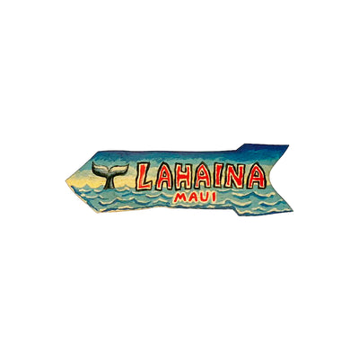 LAHAINA 5 SM DIRECTIONAL SIGN