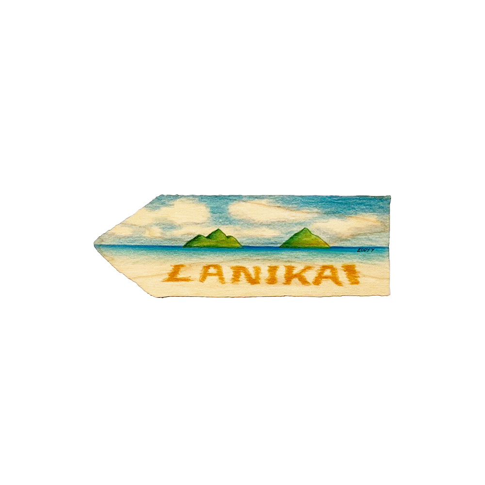 LANIKAI 4.75 SM DIRECTIONAL SIGN
