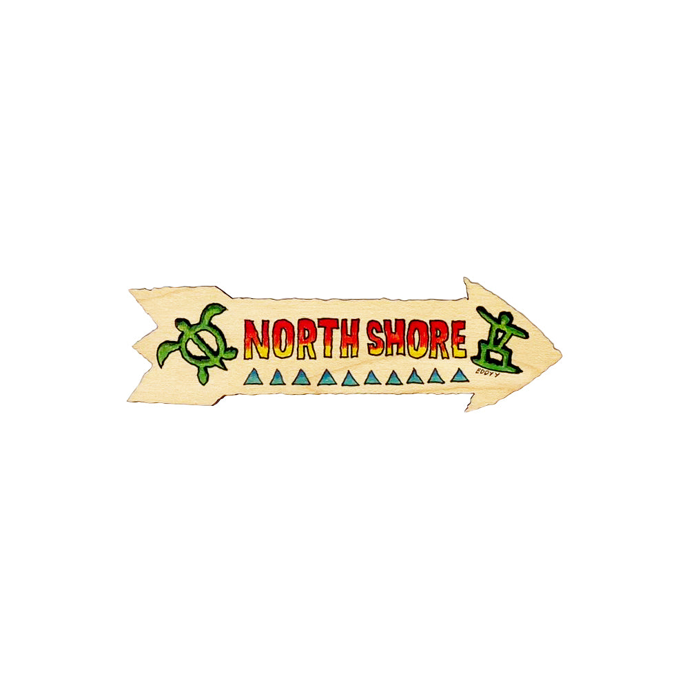 NORTH SHORE 5.25 SM DIRECTIONAL SIGN
